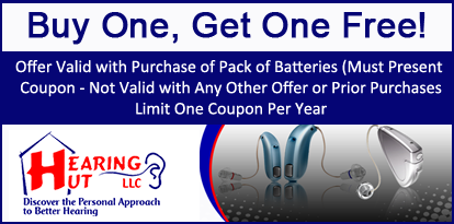 Buy One, Get One Free! - Offer Valid with Purchase of Pack of Batteries (Must Present Coupon - Not Valid with Any Other Offer or Prior Purchases)